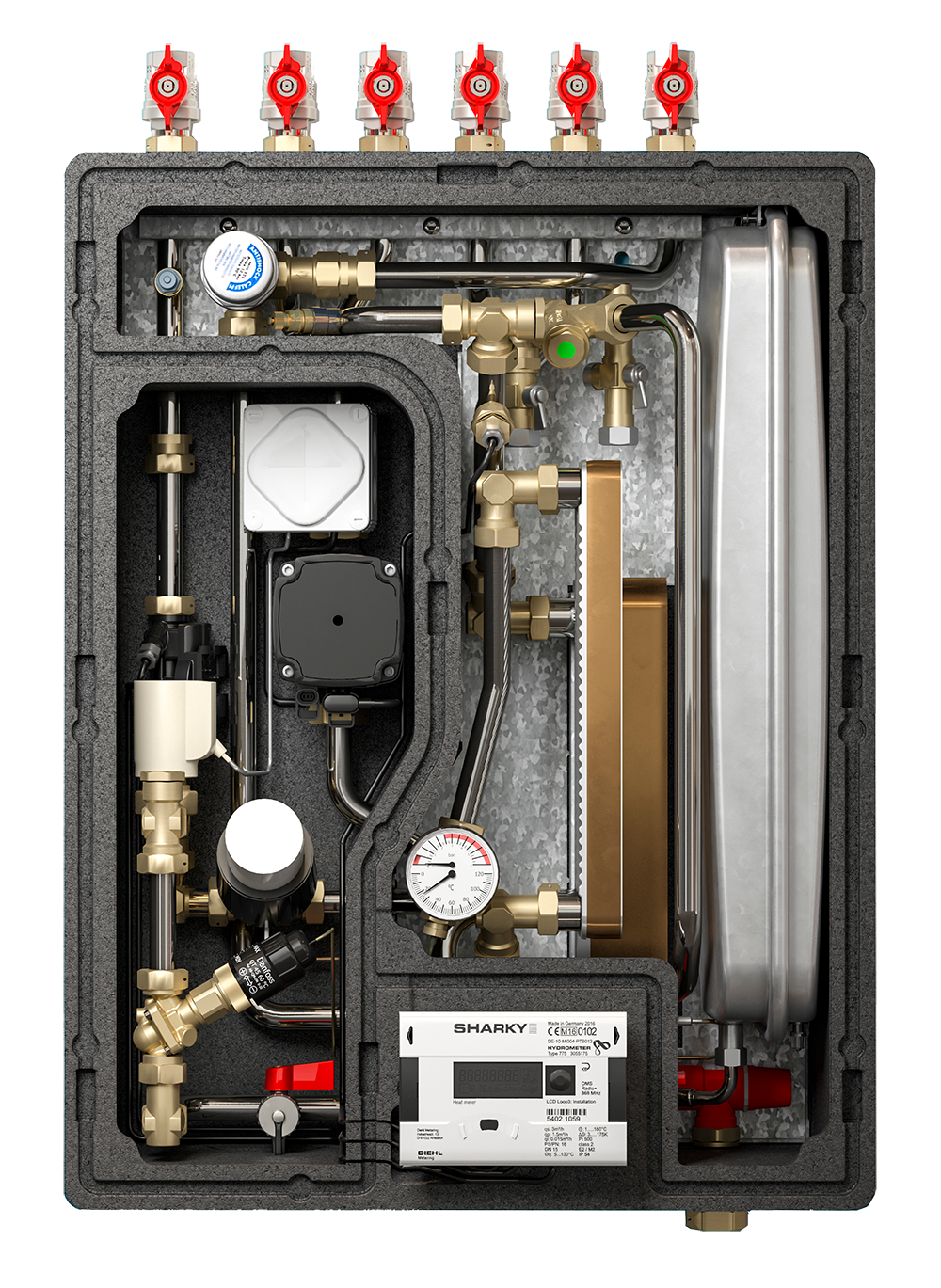 vTherm°t Thermostatic Unit