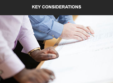 CHP Key Considerations