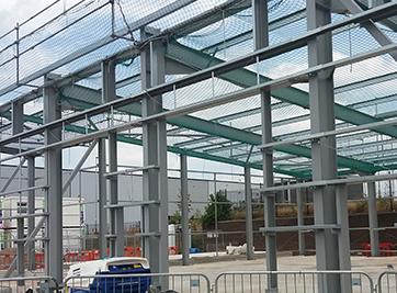 Leeds Saxton Gardens Structure