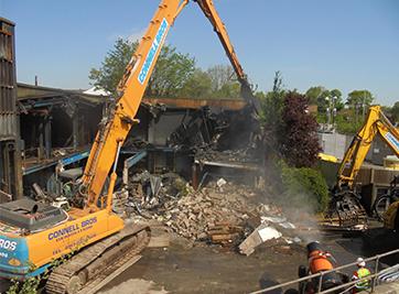 Salford Hospital Demolition Image 2