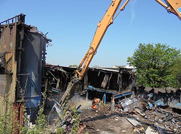 Salford Hospital Demolition Image 1