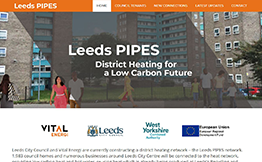 Leeds PIPES Website