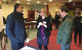 Vital Energi Representatives at a Community Event