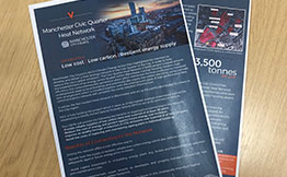 Vital Energi Leaflet for Manchester Civic Quarter Heat Network