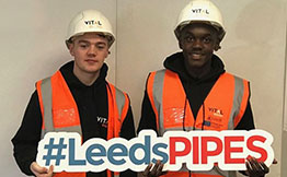Vital Energi - Leeds PIPES Apprentices