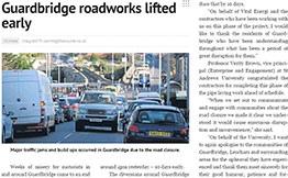 Vital Energi University of St Andrews Newspaper Snippet